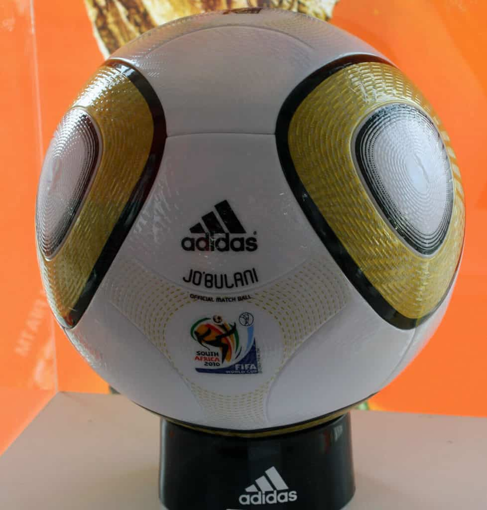 Jabulani ball, known for being an unpredictable World Cup ball