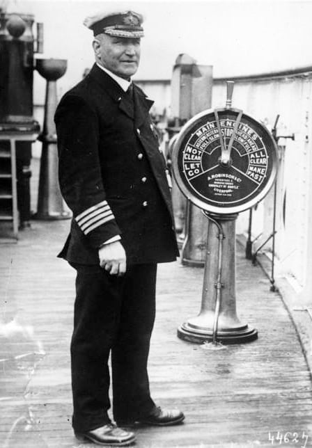 Captain Turner - The Sinking of the Lusitania