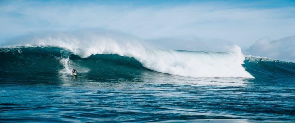 Alternation in ocean water current