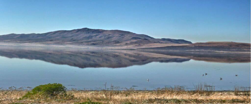 The Great Salt Lake (Utah)